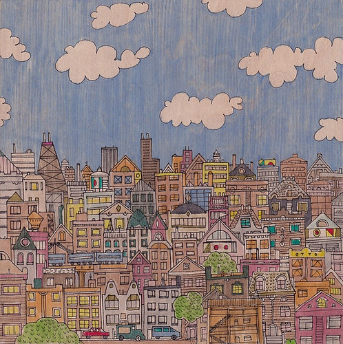Nate Otto, Chicago from the West, 2013