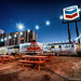 Food Trailers by the Chevron by Evan Gearing (Evan's Expo)