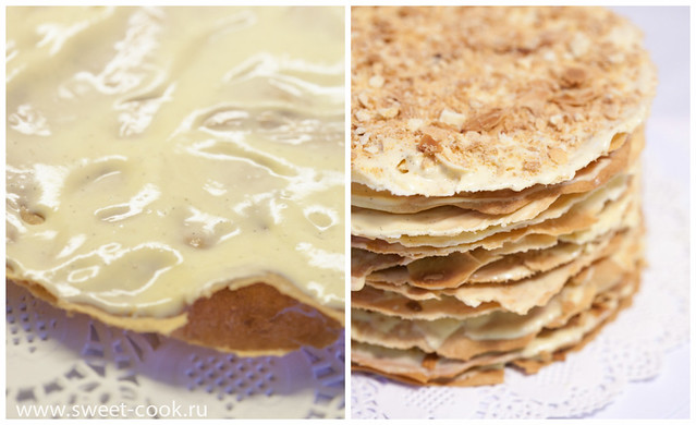 Сборка торта Наполеон