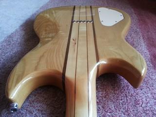 guitare Aria Pro II TS-600 de 1980 (manche traversant)