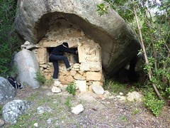 L'Oriu de Santa Lucia : l'entrée