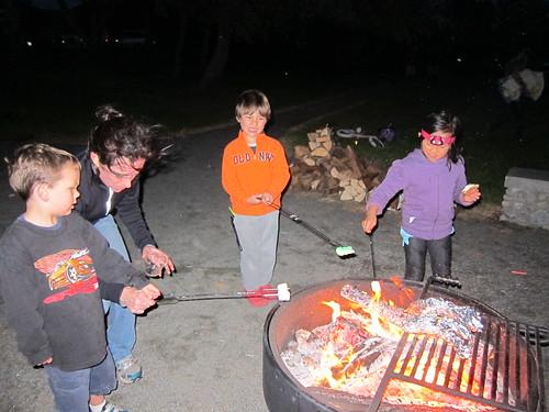 Finn and friends roast