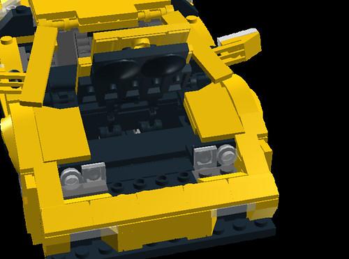 Lamborghini Diablo VT 6.0 trunk
