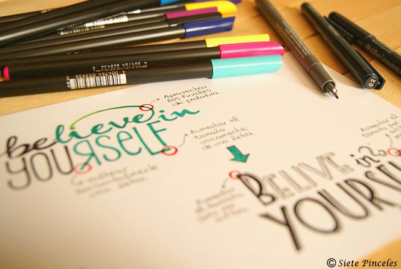 Aprender Caligrafia 7p Handlettering 1