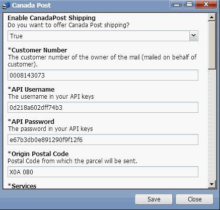install and configure Canada Post-4