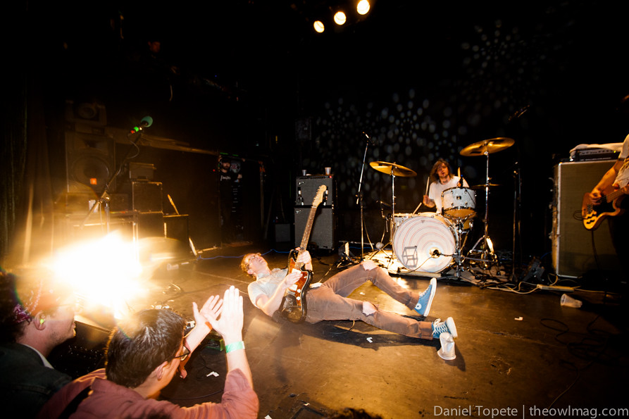 Metz @ the Bowery Ballroom, SF 4/17/13