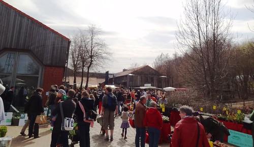Pflanzenmarkt Freilichtmuseum Kiekeberg 21.4.13