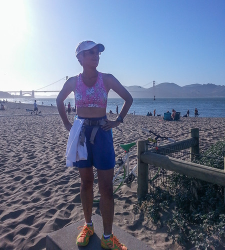 BostonStrongSF run at Crissy Field
