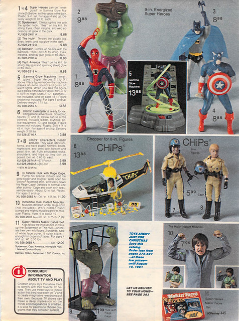 Christmas JCPenney Toy Catalog 2013