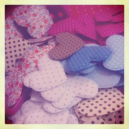 corações. by Paninh♥s em forma de am♥r