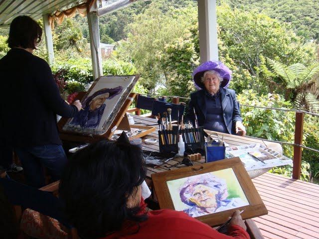 Marlborough Sounds Painting Safari