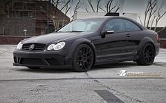 Mercedes CLK PD BLACK EDITION Widebody [w209] Aerodynamic-Kit