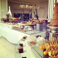 Si avec tout ça j'ai pas pris 5 kg en rentrant ! En tout cas, excellent buffet a l'hôtel ! #chocolat #buffet #instafood   #instamood