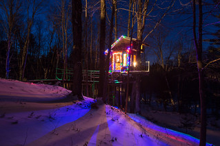 The Tiny Fern Forest Treehouse - Lincoln, VT - 2013, Feb - 02.jpg | by sebastien.barre