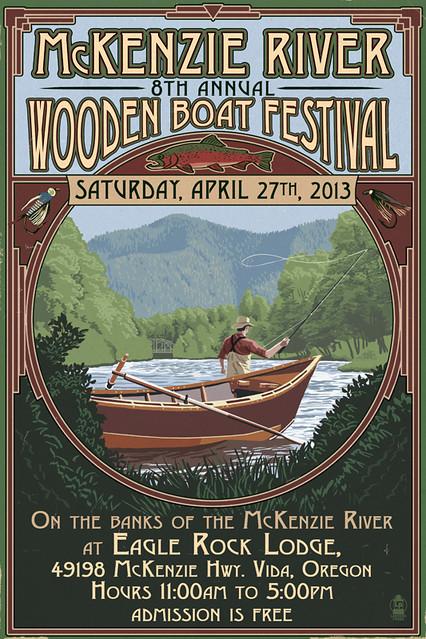 McKenzie River Wooden Boat Festival 2013 2