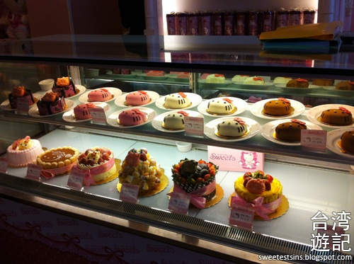 taiwan trip blog day 3 ximending zhongxiao fuxing sogo hello kitty sweets cafe miramar entertainment park 30