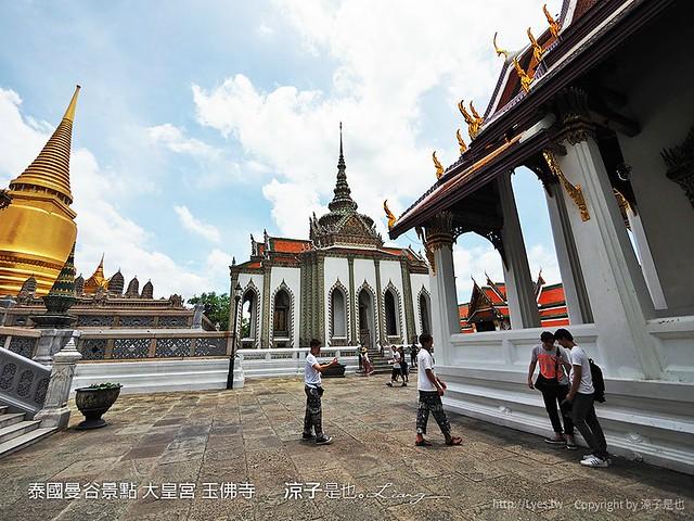 泰國曼谷景點 大皇宮 玉佛寺  52