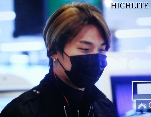 Big Bang - Gimpo Airport - 05jun2015 - Dae Sung - High Lite - 04