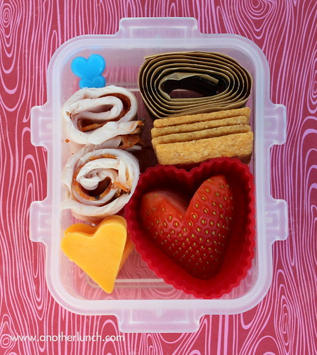 Valentines Day tiny snack bento box