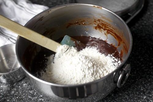 stir in dry ingredients