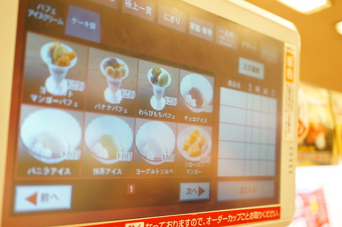 touch panel order system