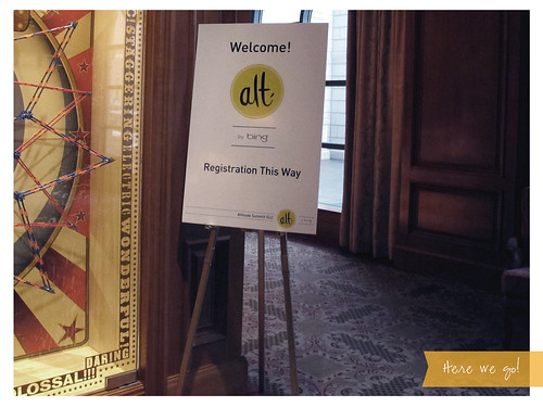 Welcome! Alt Registration This Way
