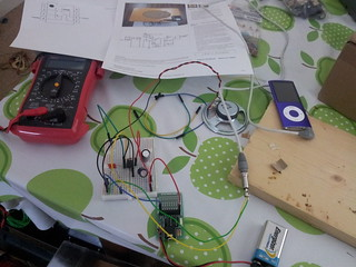 Breadboarding monobox circuit