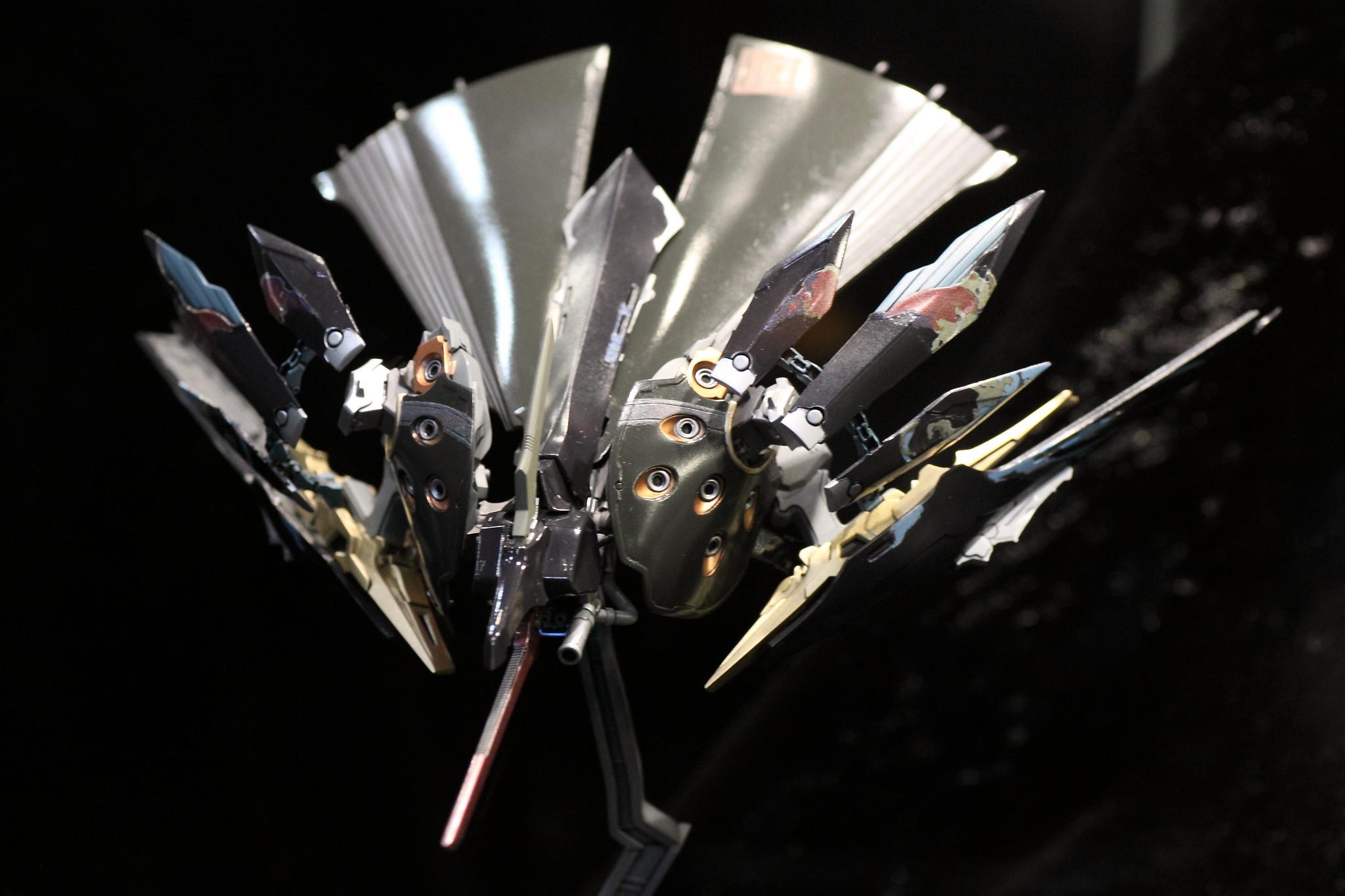 コトブキヤ 飛鉄塊・銀鶏~黒~