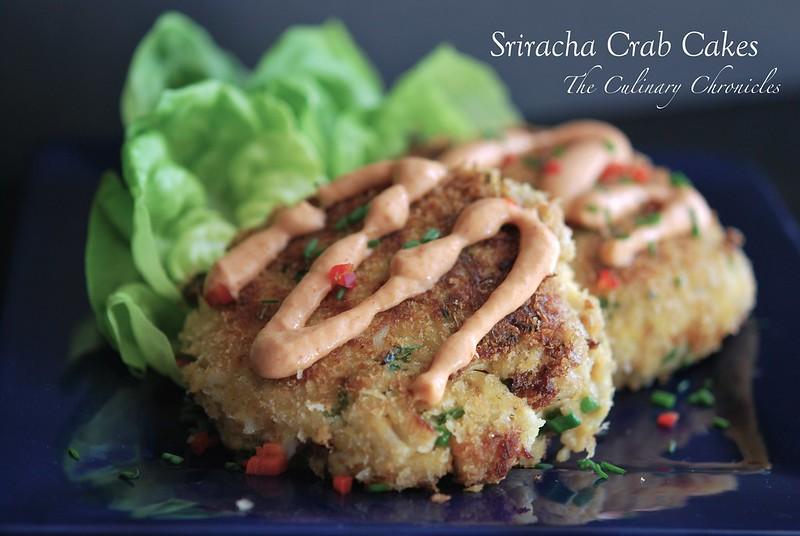 Sriracha Crab Cakes