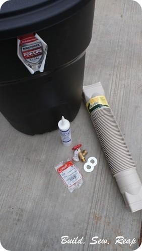 Build Sew Reap Budget Rain Barrels
