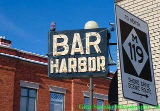 Bar Harbor sign