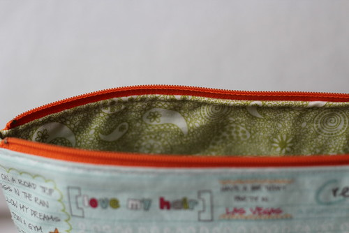 noteworthy pouch lining
