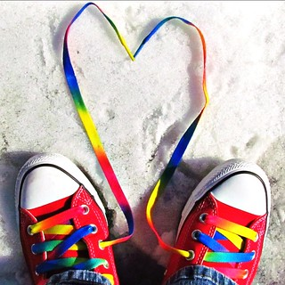 Etsy Self Portrait Thursday February 14th, 2013 Valentine's Day Converse Photo 2 of 2
