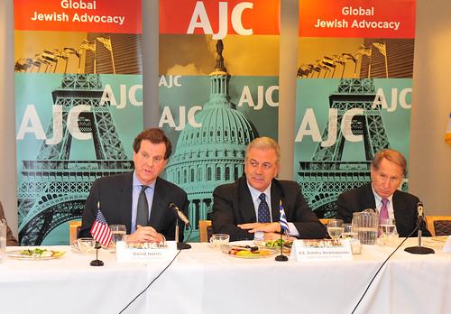 Επίσκεψη στα κεντρικά γραφεία της American Jewish Committee στη Νέα Υόρκη (2/4/12)