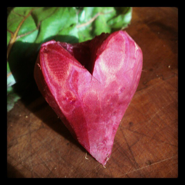 My heart beets for you #dinnertime #valentine