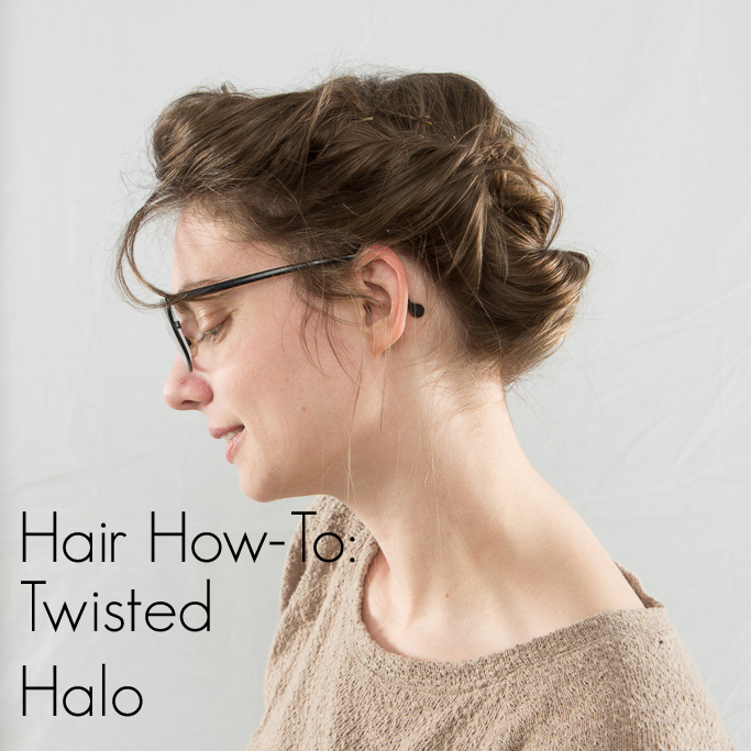 Hair How-To: Twisted Halo