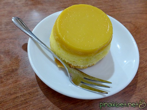 Custard Cake at Advocafe