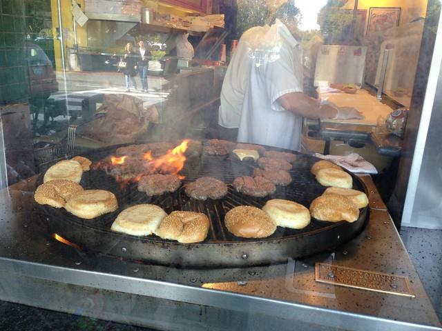 Hamburgers at Sausalito