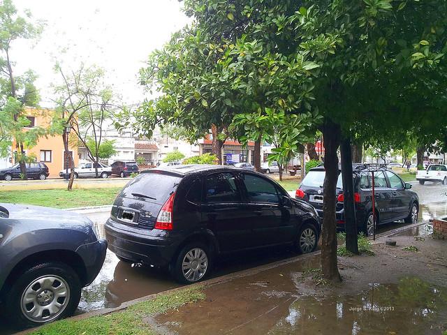 Lluvias en inconvenientes