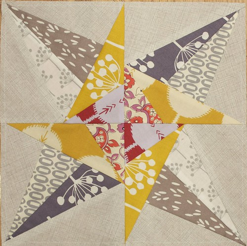 January Lucky Stars Block of the Month
