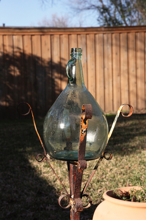 bottle-planter