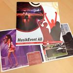 8-sidig folder till MusikEvent.
