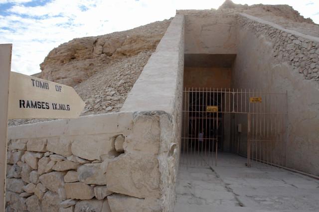 """Entrada a la Tumba de Ramsés I. (KV16) Valle de los Reyes, enlace con la """"otra vida"""" - 8493413466 8699f80f9b z - Valle de los Reyes, enlace con la """"otra vida"""""""