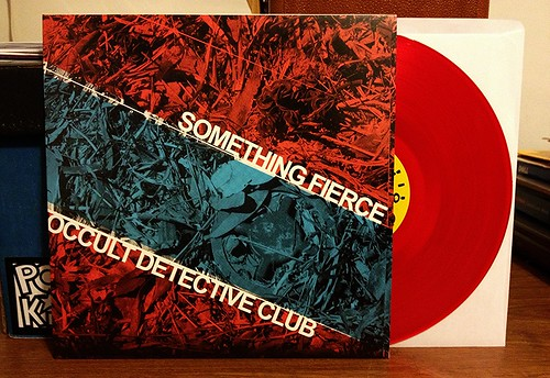 "Something Fierce / Occult Detective Club - Split 10"" - Red Vinyl (/200) by Tim PopKid"