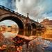 Ponte Sant'Angelo - Rome by Stevacek