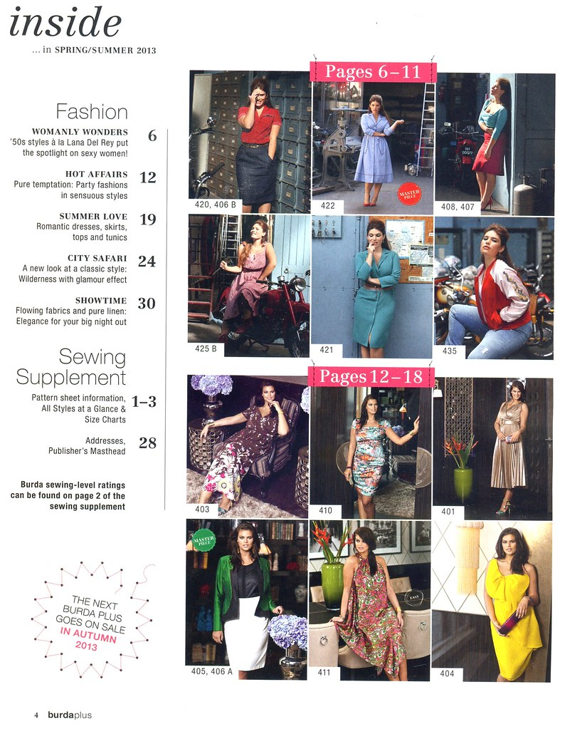 02 - BurdaStyle - PLUS Magazine Spring-Summer 2013