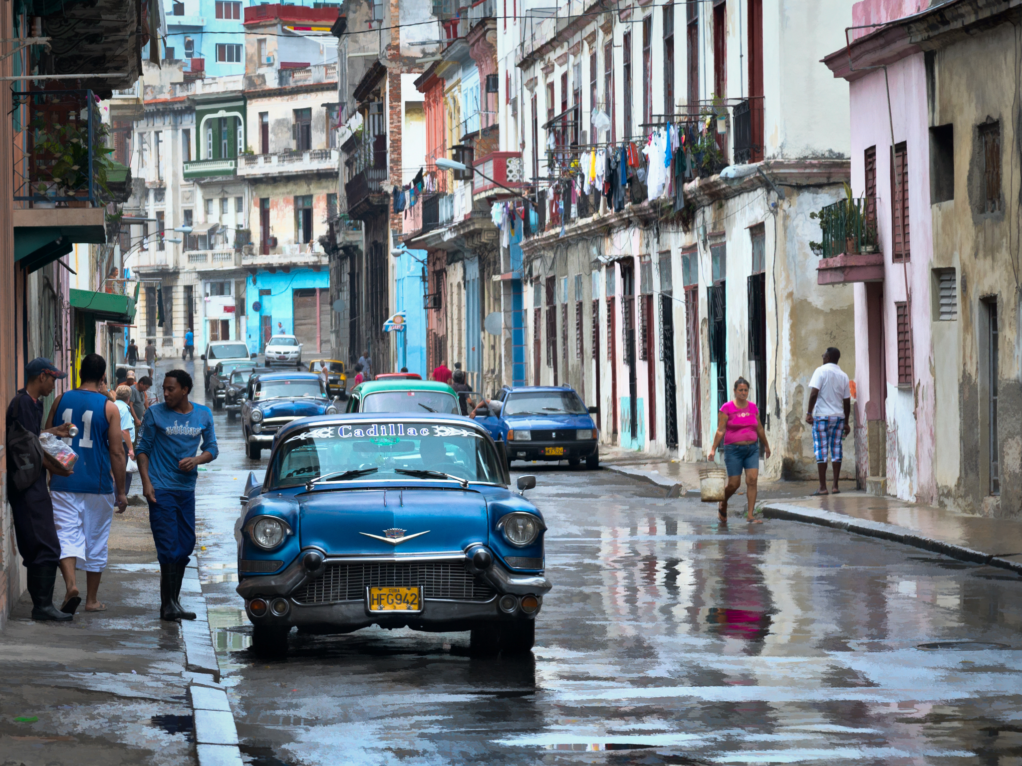 Blue Cadillac - Havana - 2013