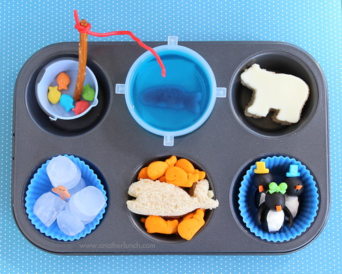 Muffin Tin Monday - An Arctic themed meal