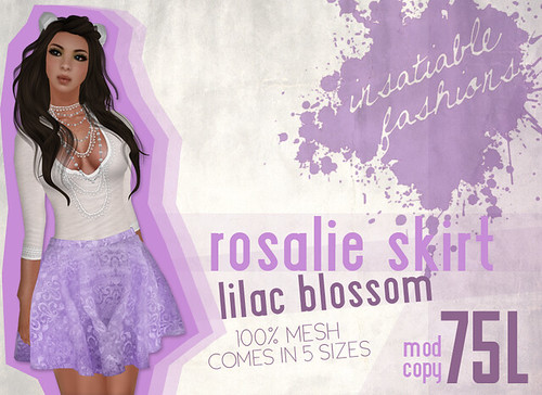 [IF] Lazy Sunday Item: Rosalie Skirt in Lilac Blossom