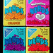 Vintage 1989 Sunmark Wonka NERDS Small Candy Boxes by gregg_koenig